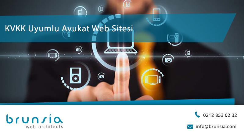 KVKK uyumlu avukat web sitesi