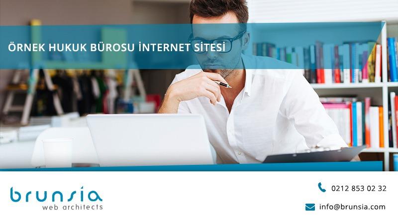 Örnek Hukuk Bürosu İnternet Sitesi